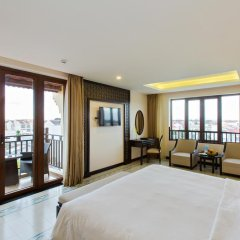 Отель Hoi An Silk Marina Resort & Spa 4* Номер Делюкс с различными типами кроватей фото 16