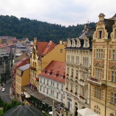 Отель Chebsky dvur - Egerlander Hof Чехия, Карловы Вары - отзывы, цены и фото номеров - забронировать отель Chebsky dvur - Egerlander Hof онлайн балкон