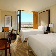 Отель Lisbon Marriott Hotel Португалия, Лиссабон - отзывы, цены и фото номеров - забронировать отель Lisbon Marriott Hotel онлайн комната для гостей фото 4