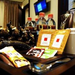Отель Cafe Aroma Inn 3* Стандартный номер с различными типами кроватей фото 7