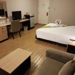 Отель Golden Jade Suvarnabhumi 3* Улучшенный номер двуспальная кровать фото 2