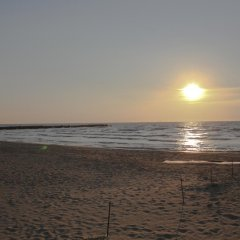Hotel Kapri пляж