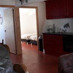 Отель Stal Zwartschaap Апартаменты с различными типами кроватей фото 12