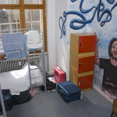 Rixpack Hostel Neukölln Кровать в общем номере с двухъярусной кроватью фото 15