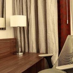 Гостиница Хилтон Гарден Инн Ульяновск 4* Стандартный номер разные типы кроватей фото 2