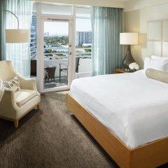 Отель Fontainebleau Miami Beach 4* Номер Делюкс с различными типами кроватей фото 24