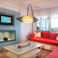 Отель Antigoni Beach Resort 4* Люкс с различными типами кроватей