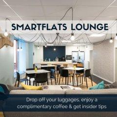 Отель Smartflats Les Postiers Брюссель гостиничный бар
