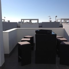 Отель Penthouse Oasis Beach La Zenia Испания, Ориуэла - отзывы, цены и фото номеров - забронировать отель Penthouse Oasis Beach La Zenia онлайн балкон