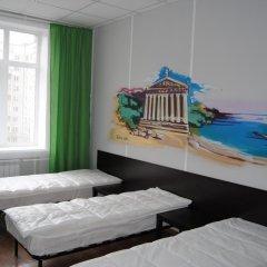 Хостел Европа Номер с общей ванной комнатой с различными типами кроватей (общая ванная комната)