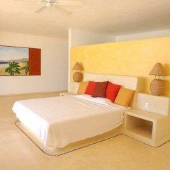 Отель Villa Puesta del Sol Мексика, Коакоюл - отзывы, цены и фото номеров - забронировать отель Villa Puesta del Sol онлайн комната для гостей фото 2