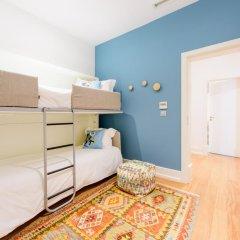 Отель Martinhal Lisbon Chiado Family Suites 5* Улучшенные апартаменты с различными типами кроватей