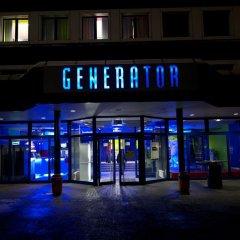 Отель Generator Berlin Prenzlauer Berg Кровать в общем номере с двухъярусной кроватью фото 20