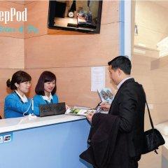 Отель VATC SleepPod Terminal 2 Стандартный номер с различными типами кроватей фото 14