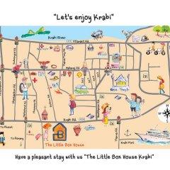 Отель The Little Box House Krabi 3* Коттедж с различными типами кроватей фото 46