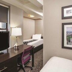 Отель La Quinta Inn & Suites New York City Central Park 2* Стандартный номер с различными типами кроватей фото 2