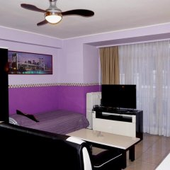Отель Aparthotel Résidence Bara Midi 3* Улучшенные апартаменты с различными типами кроватей фото 17