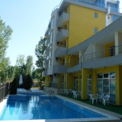 Апартаменты Sofia Apartments In Sunny Residence Солнечный берег бассейн