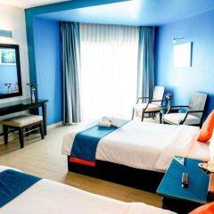 Отель Sea Breeze Jomtien Resort 4* Улучшенный номер с различными типами кроватей фото 2