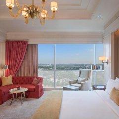 Отель The St. Regis Singapore 5* Номер Делюкс с различными типами кроватей фото 3
