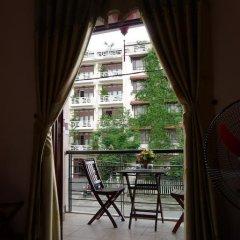 Отель Hi Hop Yen Homestay 2* Стандартный номер с двуспальной кроватью фото 2