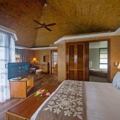 Отель InterContinental Resort Tahiti 4* Бунгало с различными типами кроватей фото 2