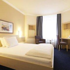 Отель IntercityHotel Nürnberg 3* Номер Бизнес с различными типами кроватей фото 2