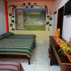 Hotel & Hostal Yaxkin Copan комната для гостей фото 3