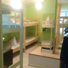 World Hostel Кровать в общем номере с двухъярусной кроватью фото 17