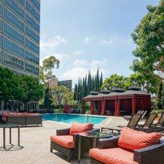 Отель Sheraton Gateway Los Angeles США, Лос-Анджелес - отзывы, цены и фото номеров - забронировать отель Sheraton Gateway Los Angeles онлайн бассейн фото 2