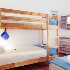 Lisbon Chillout Hostel Privates Стандартный номер с различными типами кроватей фото 6