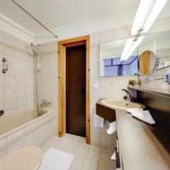 Отель Parsenn Швейцария, Давос - отзывы, цены и фото номеров - забронировать отель Parsenn онлайн ванная фото 2