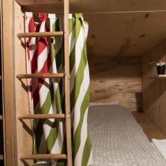 Хостел Архитектор Кровать в общем номере с двухъярусной кроватью фото 29