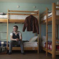 Хостел SunShine Кровать в общем номере с двухъярусной кроватью фото 14