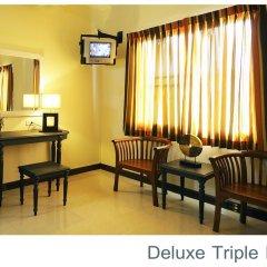 Отель Rambuttri Village Inn & Plaza 3* Номер категории Премиум с различными типами кроватей фото 6