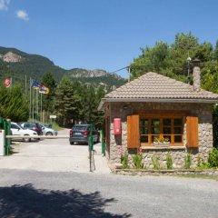 Отель Camping Fontfreda парковка