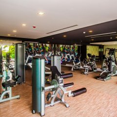 Отель Q Conzept фитнесс-зал фото 3