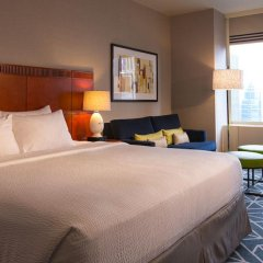 Отель Courtyard by Marriott New York City Manhattan Midtown East 3* Стандартный номер с различными типами кроватей фото 2