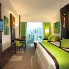 Отель RIU Plaza Panama 4* Номер Делюкс с различными типами кроватей фото 2