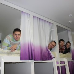 Хостел Friday Кровать в мужском общем номере с двухъярусными кроватями фото 9