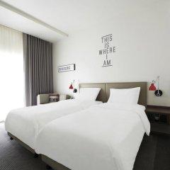 Отель Rove Downtown Dubai Стандартный номер с различными типами кроватей фото 3