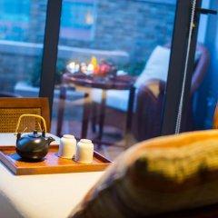 Отель Hangzhou Hua Chen International 4* Улучшенный номер с различными типами кроватей фото 11