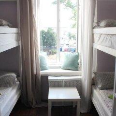 Hostel DomZhur Кровать в общем номере с двухъярусными кроватями фото 5