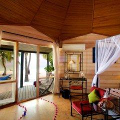 Отель Kuredu Island Resort 4* Вилла с различными типами кроватей фото 4