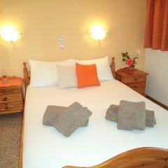 Апартаменты Antonios Apartments Пляж Стегна комната для гостей