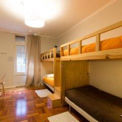 Lisboa Central Hostel Стандартный номер с 2 отдельными кроватями (общая ванная комната) фото 3