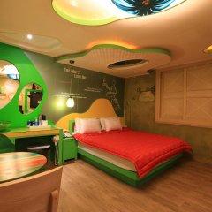 Haeundae Grimm Hotel 2* Номер Делюкс с различными типами кроватей фото 45