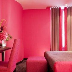 Отель Hôtel Courcelles Étoile 3* Стандартный номер с различными типами кроватей фото 2
