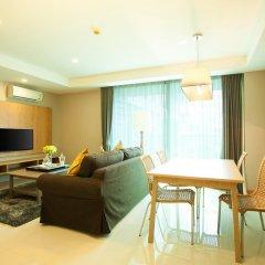 Отель Rocco Huahin Condominium Люкс с различными типами кроватей фото 11