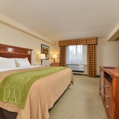 Отель Comfort Inn Washington Dulles International комната для гостей фото 5